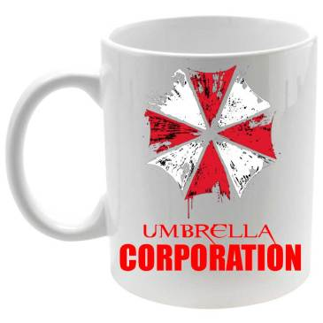 Taza cerámica Umbrella Corporation Resident Evil