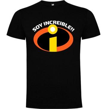 Camiseta para hombre Soy Increible en color Negro
