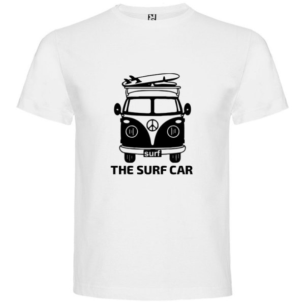 Camiseta The Surf Car para hombre Blanco
