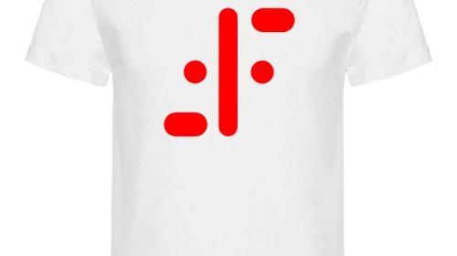 Blanco logo rojo
