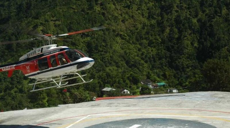 Kedarnath helicopter service online booking