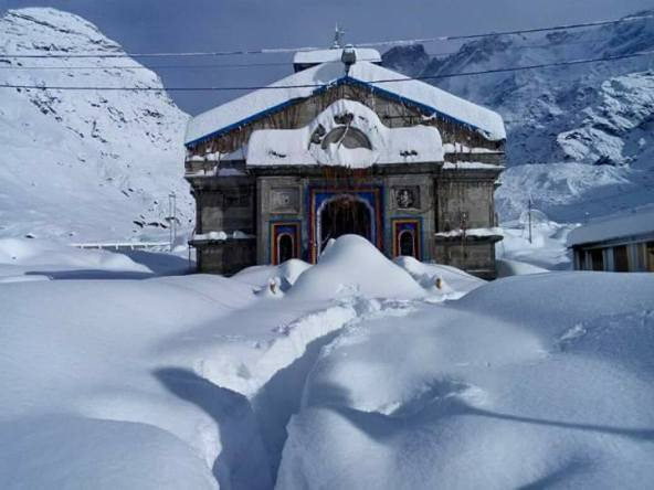 Kedarnath Snowfall during Fabruary-March