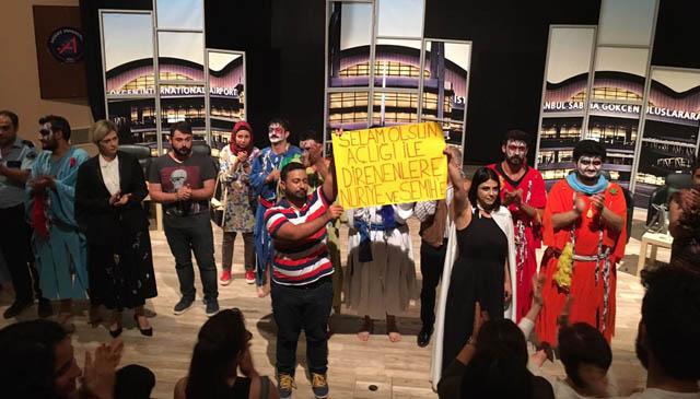 solidarite nuriye semih universite akdeniz festival theatre