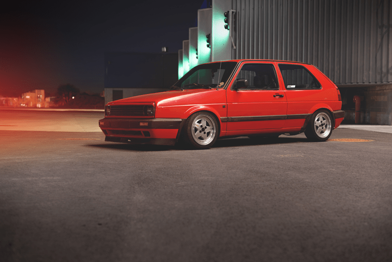 VW Golf MK2 Owner: Justinas