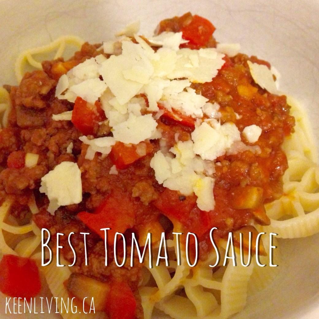 The best tomato sauce recipe