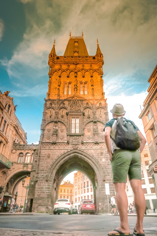 The Iconic Prague Powder Tower