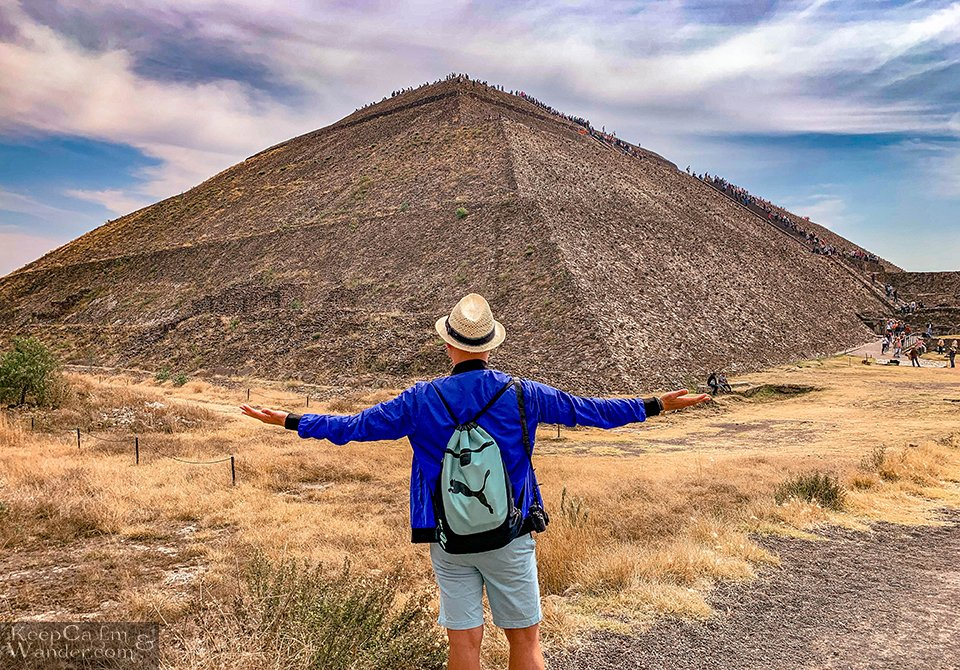 The Massive Teotihuacan Pyramids Outside Mexico City