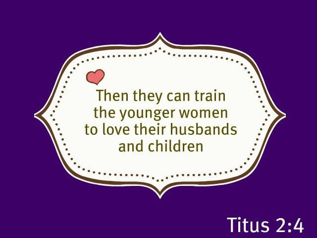 Image result for titus 2 moms