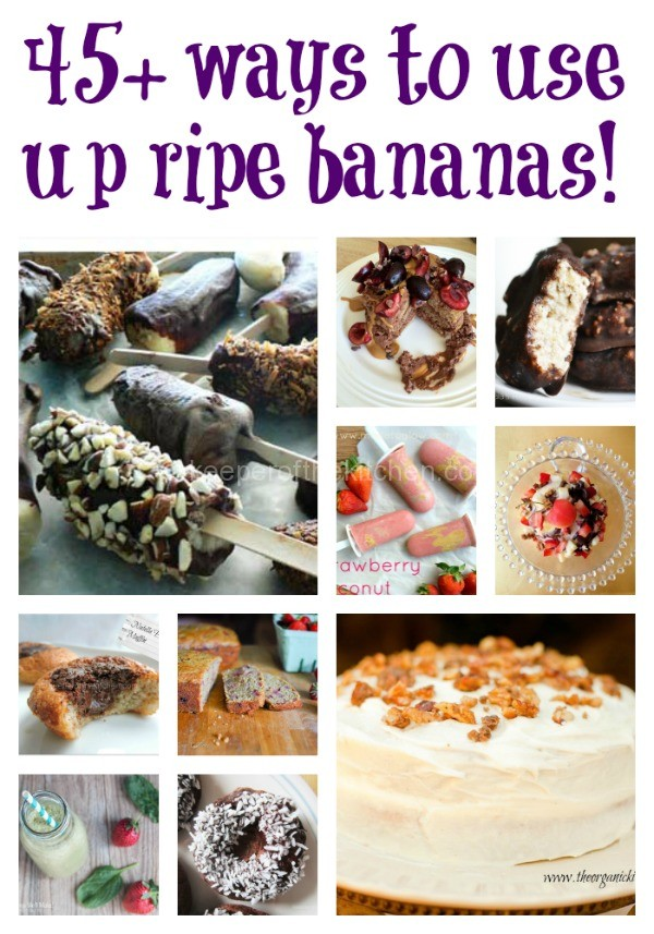 45 Ways To Use Bananas