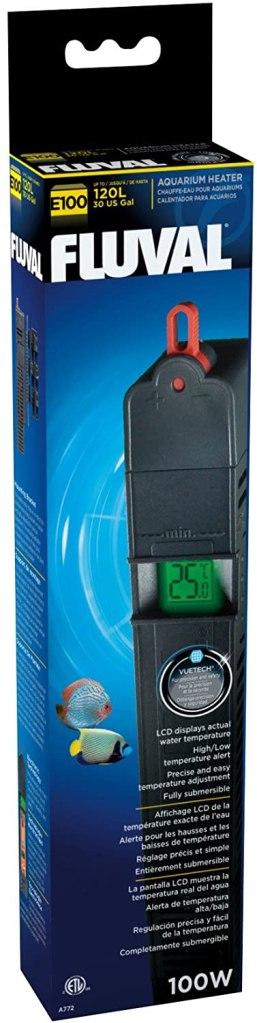 Fluval E - Recommende betta fish tank heater for