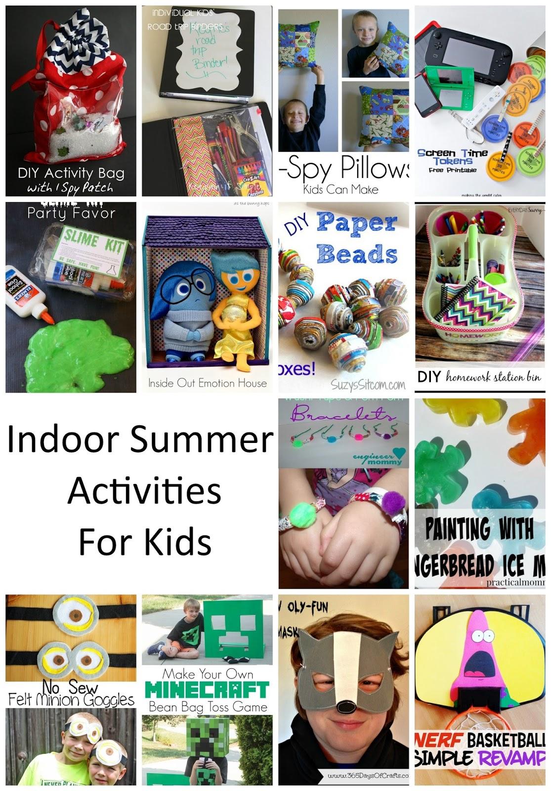 Indoor Activities For Kids Mmm 285 Block Party Keeping It Simple Crafts