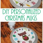 Diy Personalized Christmas Mugs Keeping It Simple