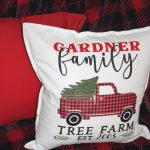 Christmas Pillow Ideas With Svg Cut Files Keeping It Simple