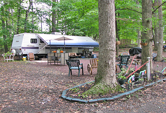 little red barn campground