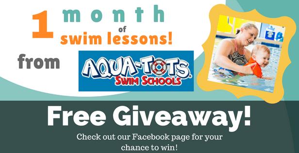 Aqua-Tots giveaway slide