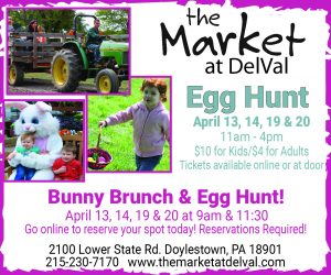 The Market At DelVal Bunny Brunch and Egg Hunt