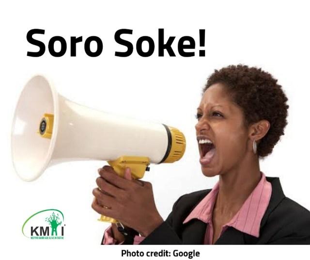 Soro Soke!