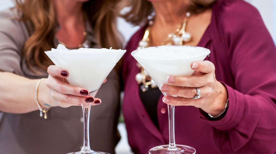 KEEL Vodka: Coco Christmas Martini - keepingthelighthouse com