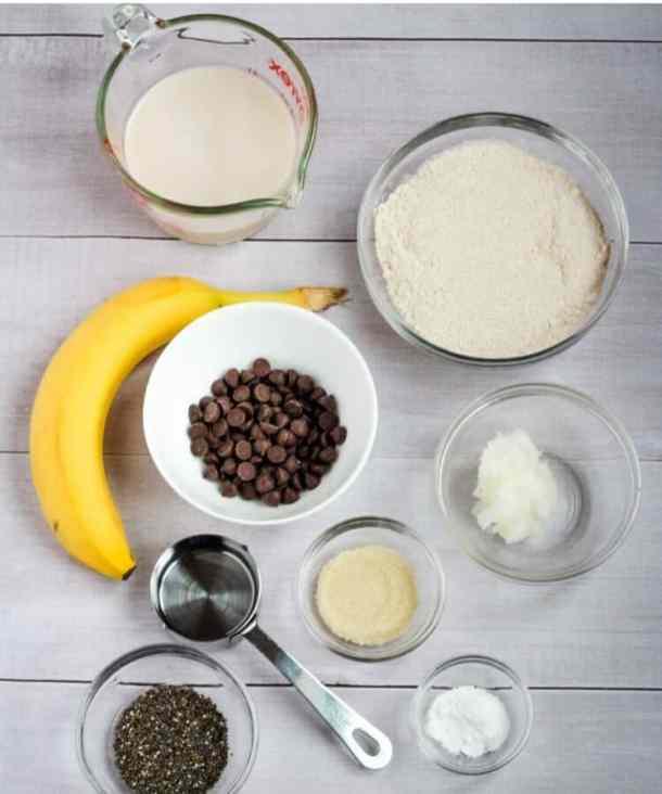 vegan whole wheat pancake ingredients