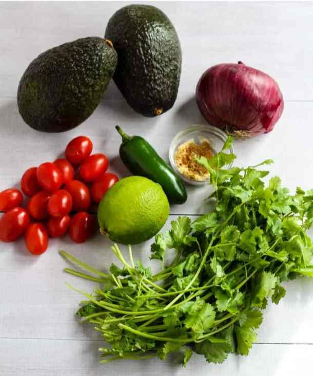 traditional guacamole ingredients