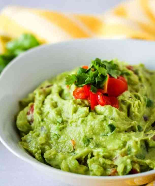 traditional guacamole