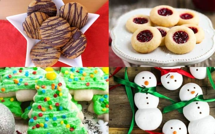 24 Vegan Christmas Cookies For Your Holiday Cookie Exchange