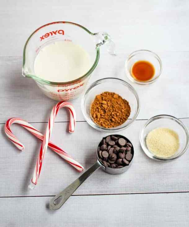 vegan hot chocolate ingredients