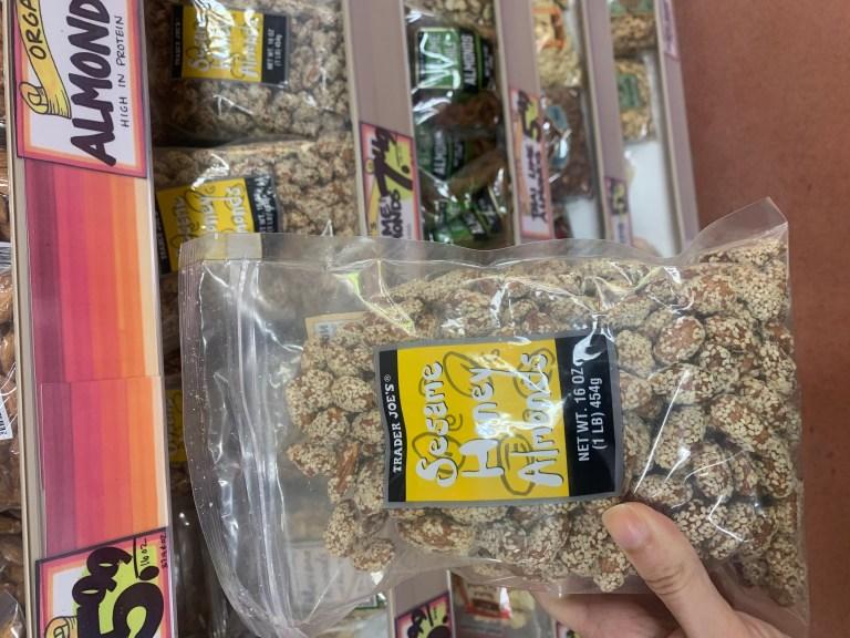Trader Joes snacks: Trader Joe's Sesame Honey Almonds