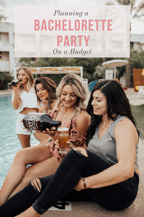how to plan a bachelorette party, bachelorette party planning on a budget, who pays for bachelorette, how to plan a destination bachelorette party