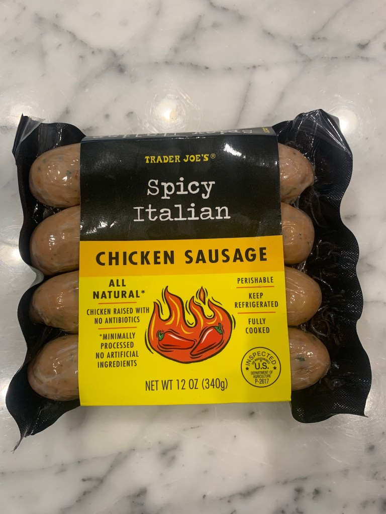 Best Trader Joe's Quick Meals: Spicy Italian Chicken Sausage
