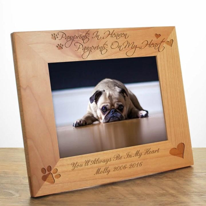 Personalized Dog Photo Frames Uk | Frameswall.co