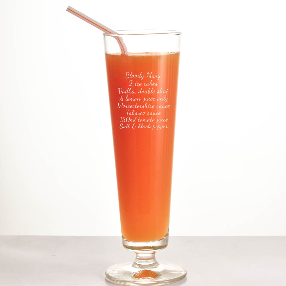 Personalised Tall Cocktail Glass