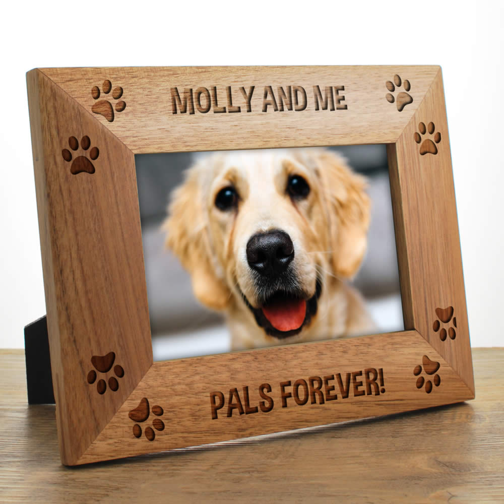 Dog Photo Frames Personalised