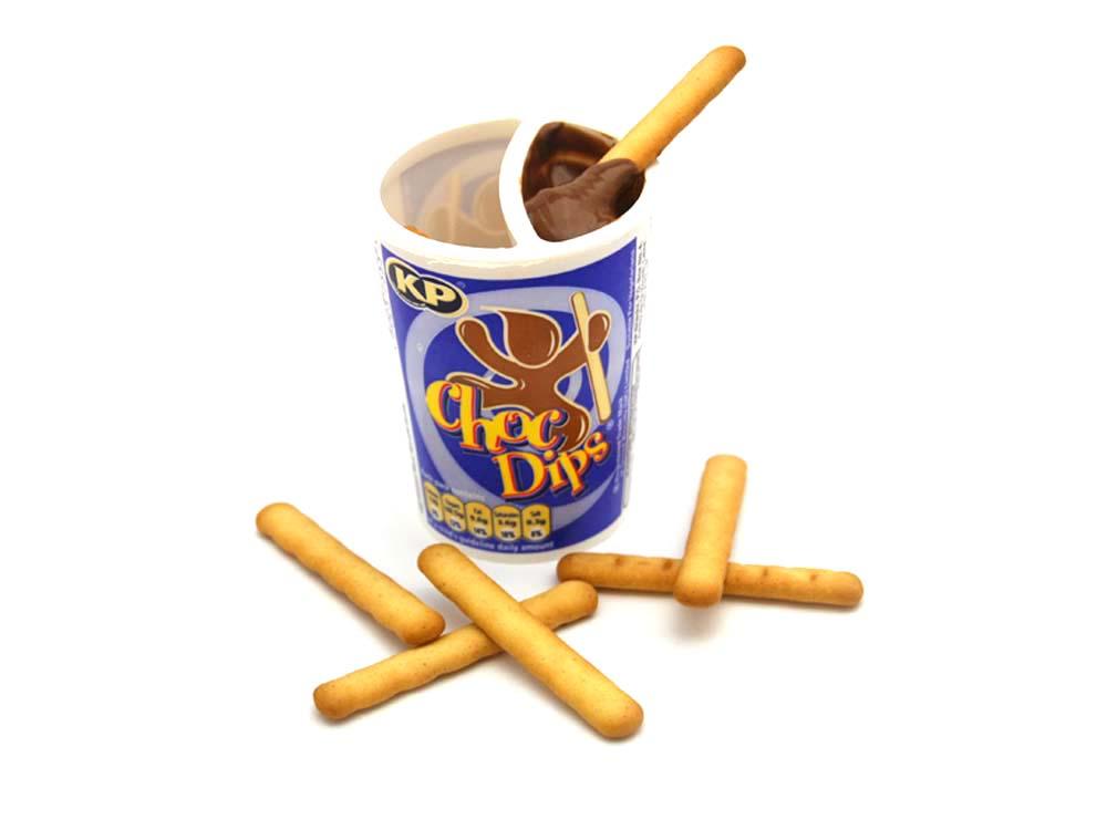 KP Choc Dips Milk Chocolate