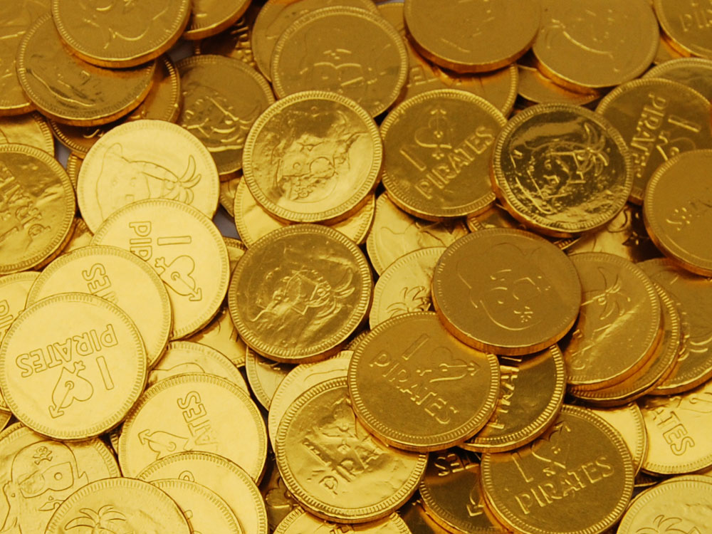 Pirate Chocolate Coins Chocolate Gold Coins Keep It Sweet