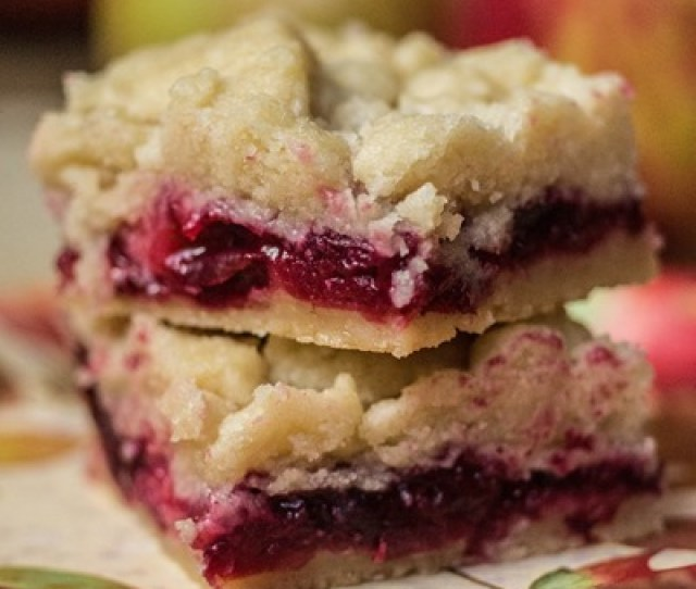 Cranberry Apple Shortbread Bars An Easy Last Minute Thanksgiving Dessert