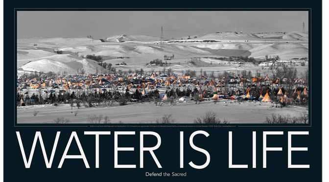 Standing Rock Goes to Press