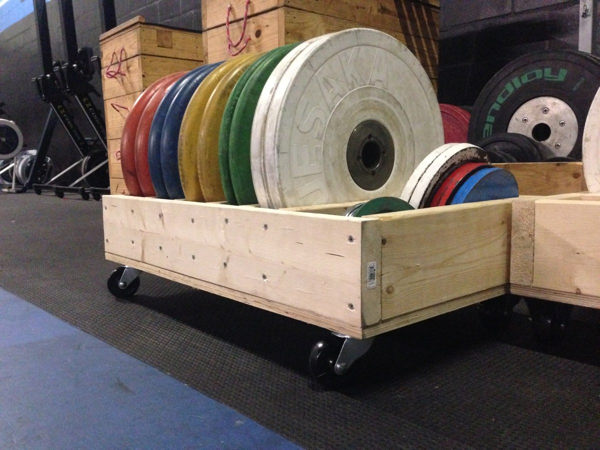 Diy Rolling Weight Trays Olympic Weightlifting Coach