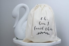 Keepsake Cotton Bag