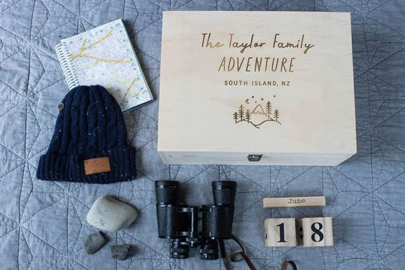 Adventure Keepsake Box