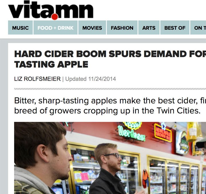 Vita.mn article on 'terrible' tasting apple boom