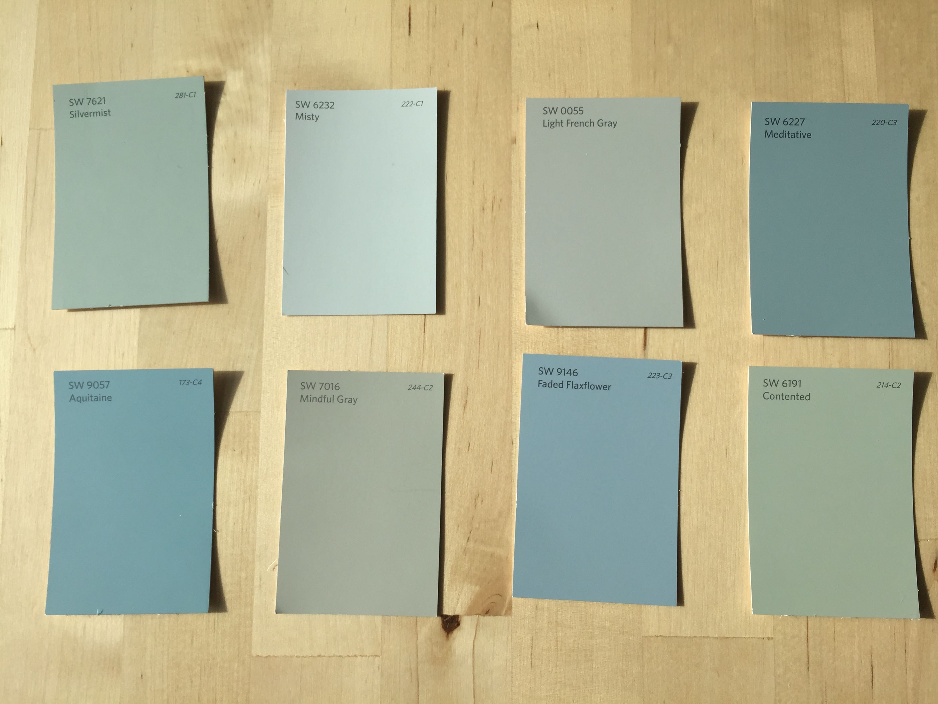 Interior Paint Colors for Fuquay Varina Custom Home Project ...