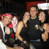 Halloween in Bar Salsa