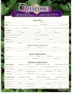 Smithtown Dentist New Patient Forms - Thumbnail