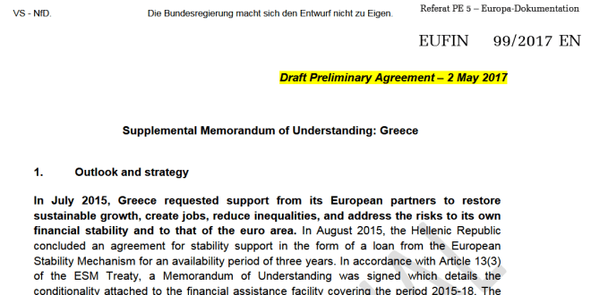 Mission Impossible For Greece Creditors 100 Prior Actions In Mou