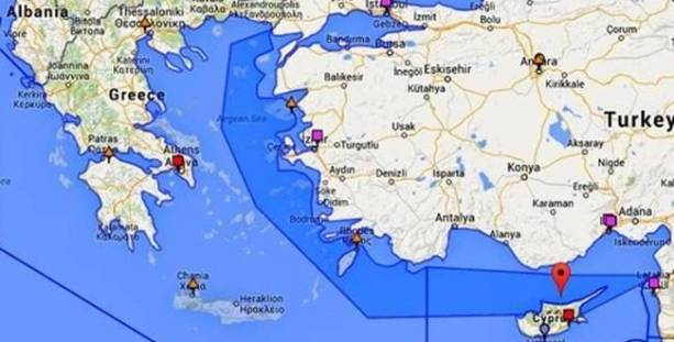 Turkish Coast Guard Publishes Maps Claiming Half Of The Aegean Sea