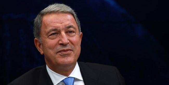 """The Aegean Sea and Cyprus belong to Turkey,"" says Defense Minister Hulusi Akar"