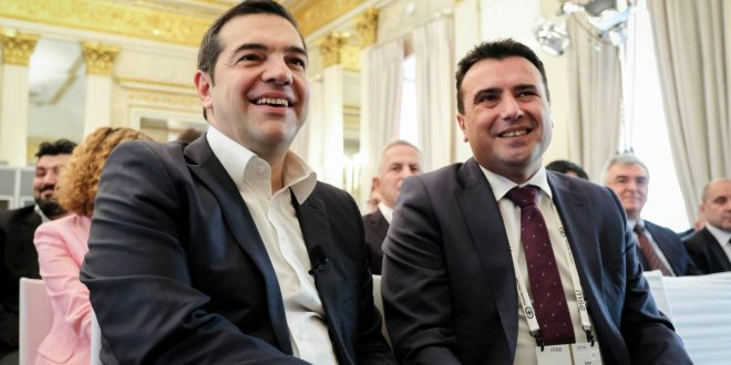 Tsipras and Zaev awarded Ewald von Kleist Prize for their contribution to peace