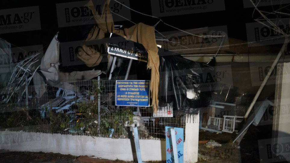 Halkidiki battered by powerful storm: 6 dead, 100 injured (picts