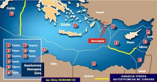 Turkey Eliminates Greece S Kastellorizo In Effort To Delineate